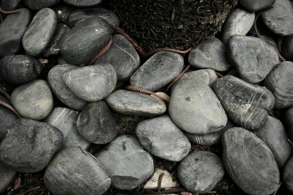 Pebbles for your garden